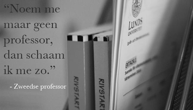 zweedse professor