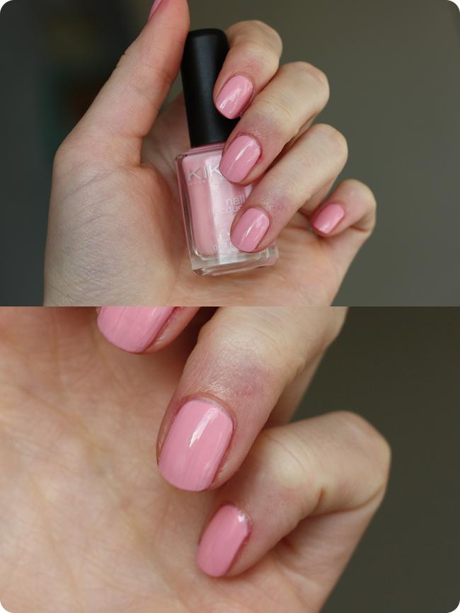 nagels kiko roze